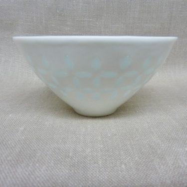 Arabia FK/33 vase, white, designer Friedl Holzer-Kjellberg, small, mass signed, porcelain, 2