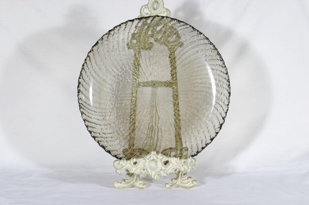 Riihimäen lasi Tupru lasivati, ruskea, suunnittelija Nanny Still,