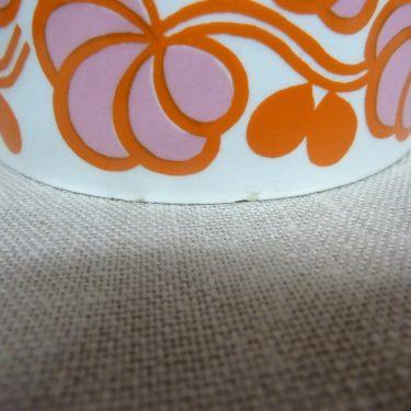 Arabia Pomona Hilla purnukka, oranssi, suunnittelija Gunvor Olin-Grönqvist, serikuva kuva 4