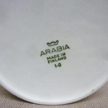 Arabia Tutti Frutti purnukka, Omena, suunnittelija Ulla Procope, Omena, serikuva, retro kuva 3