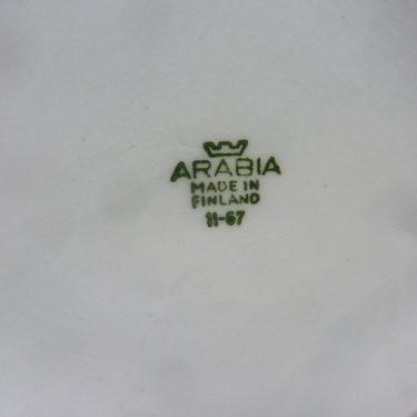 Arabia Pomona Herukka purnukka, suunnittelija Ulla Procope, serikuva, retro kuva 3