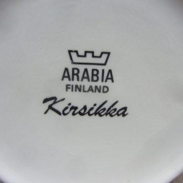 Arabia Kirsikka sokerikko ja kermakko, suunnittelija Inkeri Seppälä, serikuva kuva 2