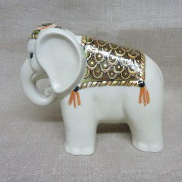 Arabia eläinfiguuri, suunnittelija Inkeri Seppälä, käsinmaalattu, UNIIKKI
