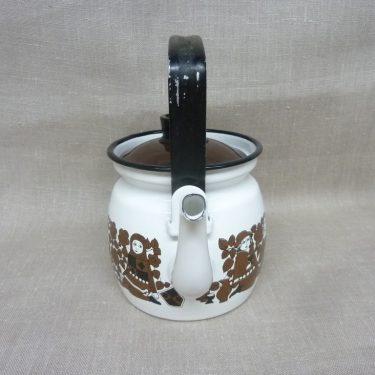 Arabia Ritari kahvipannu, ruskea, suunnittelija Raija Uosikkinen, 0.6 l, pieni kuva 2