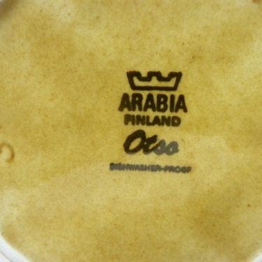 Arabia Otso teepannu, ruskea, suunnittelija Raija Uosikkinen, erikoiskoriste, retro kuva 2