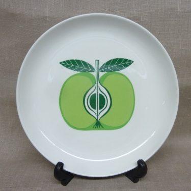 Arabia Pomona Omena plate, designer Raija Uosikkinen, shallow, silk-screening