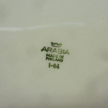 Arabia Pomona Omena lautanen, suunnittelija Raija Uosikkinen, matala, serikuva kuva 2