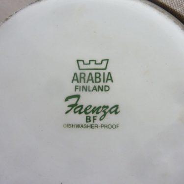 Arabia Faenza kukka coffee pot, brown, designer Inkeri Seppälä, 1 l, flower decoration, 3