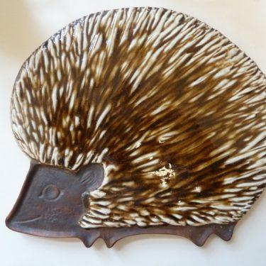 Arabia Siili decorative plate, big, hand-painted, signed