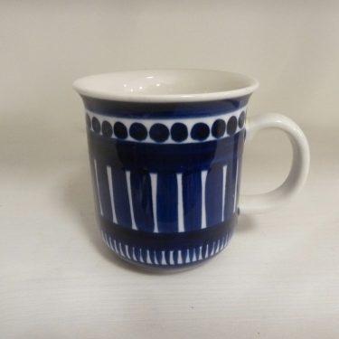 Arabia Valencia kahvikuppi, suunnittelija Ulla Procope, käsinmaalattu