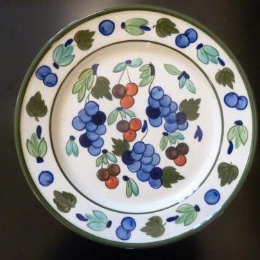 Arabia Palermo serving plate, designer Dorrit von Fieandt, large, hand-painted