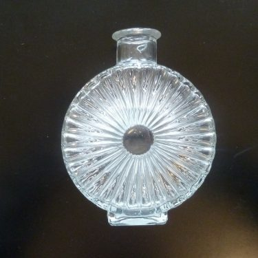 Riihimäen lasi Aurinkopullo decorative bottle, 1/4, designer Helena Tynell