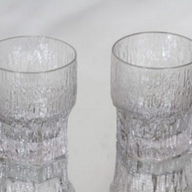 Iittala Aslak whiskey glasses, 2 pcs, Tapio Wirkkala