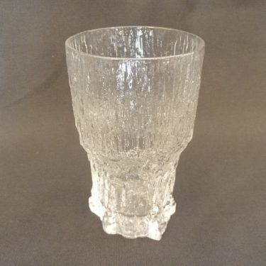 Iittala Aslak beer glass, clear, designer Tapio Wirkkala, 35 cl, big