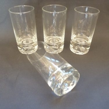 Iittala Himalaja lasit, kirkas, 4 kpl, suunnittelija Björn Weckström, 38 cl