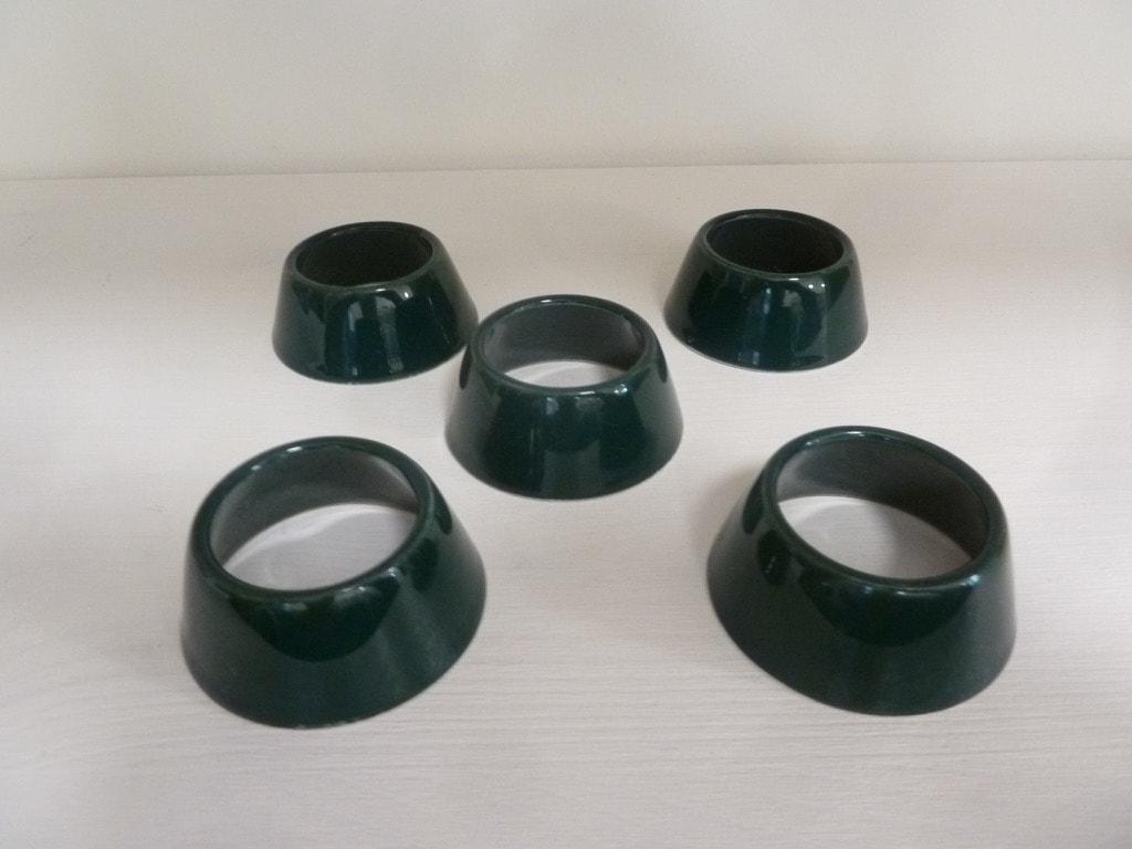Arabia Kilta munarenkaat, vihreä, 5 kpl, suunnittelija ,