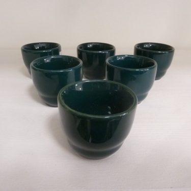 Arabia Kilta munakupit, vihreä, 6 kpl, suunnittelija ,