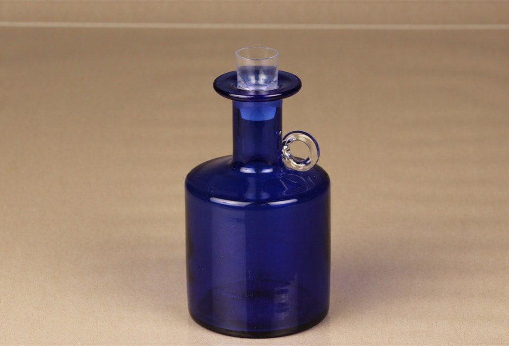 Kumela 259=2802 karahvi, koboltin sininen, suunnittelija Sirkku Kumela-Lehtonen,