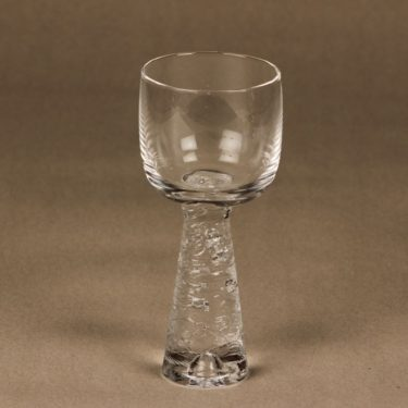 Iittala Arkipelago white wine glass, clear, Timo Sarpaneva