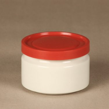 Arabia jar without decorations, white