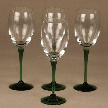 Nuutajärvi Traviata glasses, clear, 4 pcs, Saara Hopea
