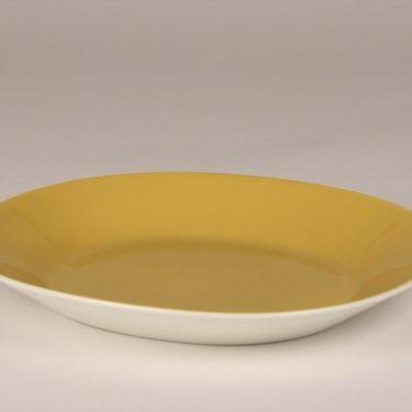Arabia Aatami plate, yellow, Birger Kaipiainen