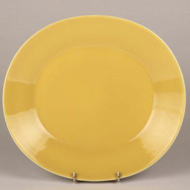 Arabia Aatami lautaset, keltainen, suunnittelija Birger Kaipiainen,  kuva 2