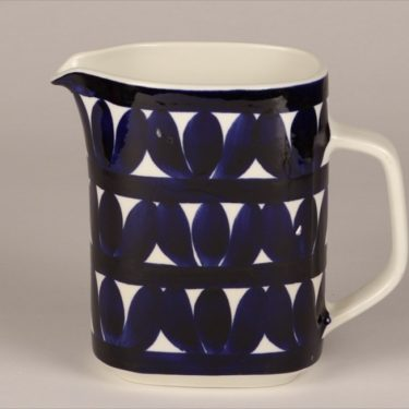Arabia Sotka jug, blue, designer Raija Uosikkinen, 1 l, hand-painted