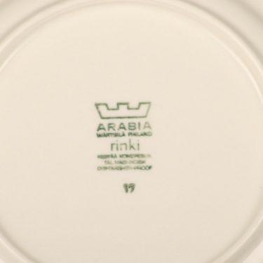 Arabia Rinki kahvikupit ja lautaset, suunnittelija Raija Uosikkinen,  kuva 2