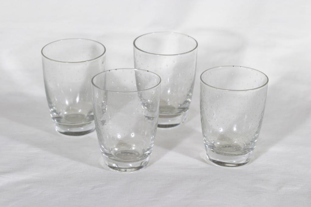 Nuutajärvi Pore lasit, 22 cl, 4 kpl, suunnittelija Gunnel Nyman, 22 cl