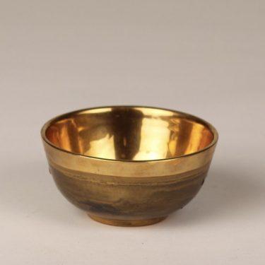 Savitorppa kulho, kulta, suunnittelija Kauko Forsvik, pieni, kullattu