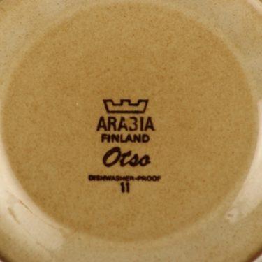 Arabia Otso teekupit, suunnittelija Raija Uosikkinen, erikoiskoriste, retro kuva 2