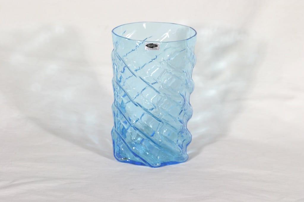 Nuutajärvi maljakko, sininen, suunnittelija ,
