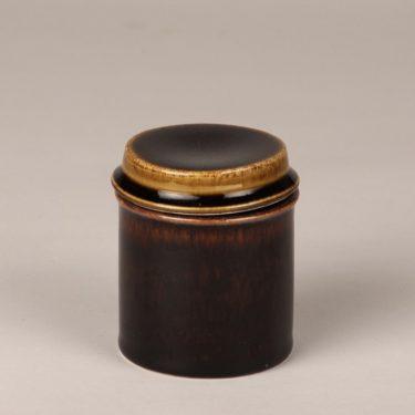 Arabia Mahonki purkit, ruskea, suunnittelija Ulla Procope, lasite
