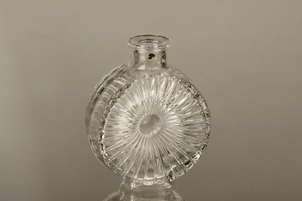 Riihimäen lasi Aurinkopullo decorative bottle, 1/4, designer Helena Tynell