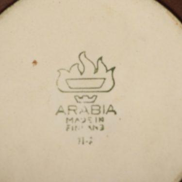 arabia Liekki pikkupata, ruskea, 3 kpl, suunnittelija Ulla Procope,  kuva 4