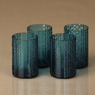 Riihimäen lasi Flindari lasit, 8 cl, 4 kpl, suunnittelija Nanny Still, 8 cl