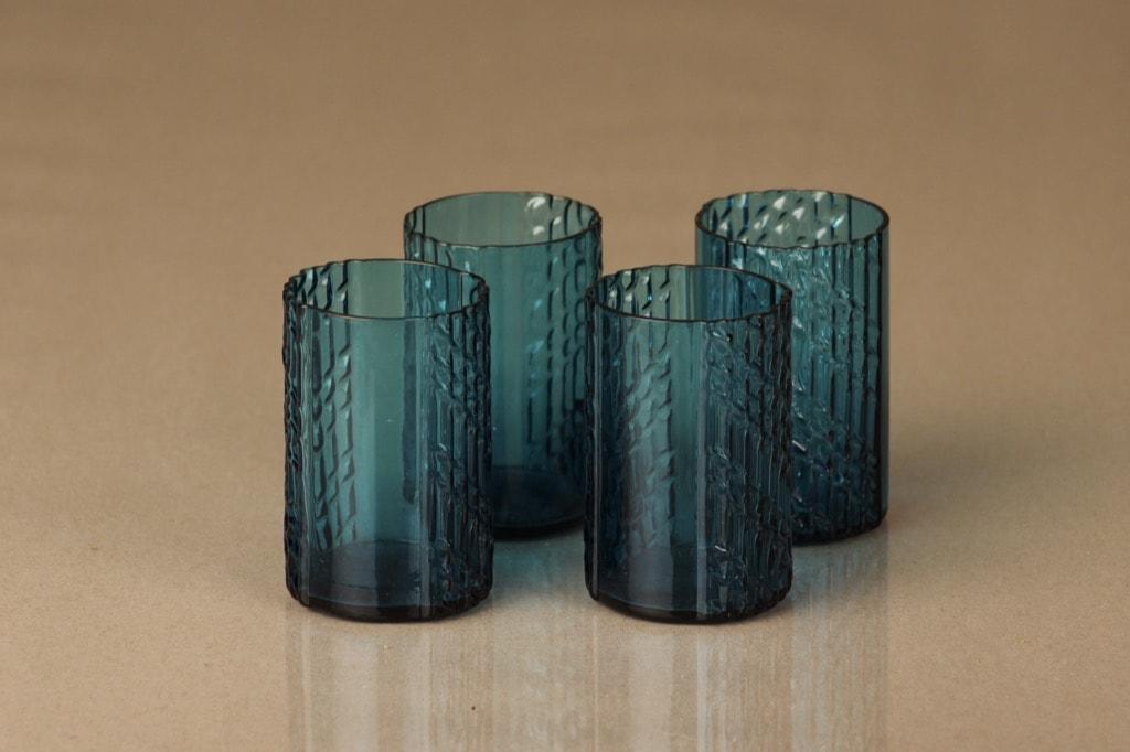 Riihimäen lasi Flindari glass, 8 cl, 4 pcs, Nanny Still