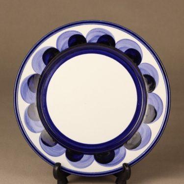 Arabia Paju lautanen, matala, suunnittelija Anja Jaatinen, matala, käsinmaalattu