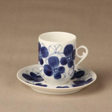Arabia Elsa mocha cup, blue, Esteri Tomula