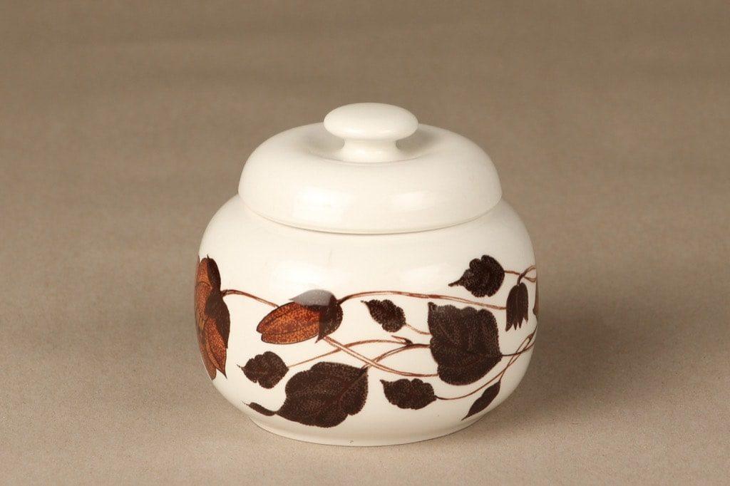 Arabia Tea for two sokerikko, ruskea, suunnittelija , serikuva