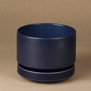 Arabia SN1 kukkaruukku, tummansininen, suunnittelija Richard Lindt,