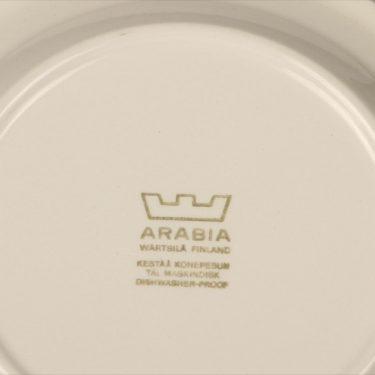 Arabia Kartano kahvikuppi, mustavalkoinen, suunnittelija Esteri Tomula,  kuva 3