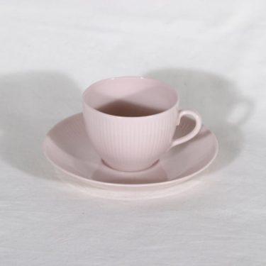 Arabia Sointu kahvikuppi, rosa, suunnittelija Kaj Franck,