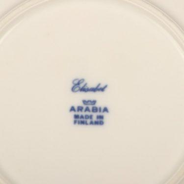 Arabia Elisabet coffee cup, saucer and plate, Raija Uosikkinen, 4