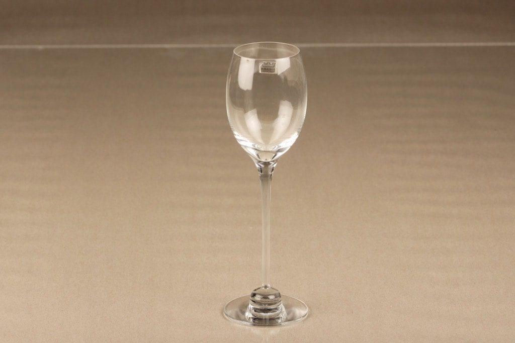 Iittala Aurora white wine glass, 18 cl, Heikki Orvola