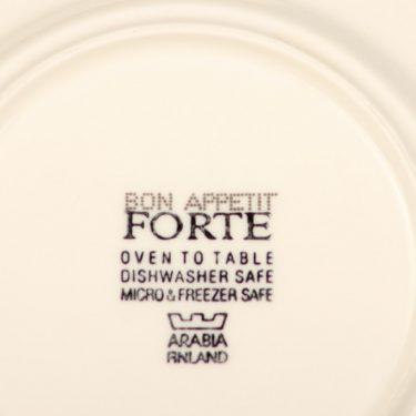 Arabia Bon Appetit kahvikuppi, monivärinen, suunnittelija Heikki Orvola, serikuva kuva 2