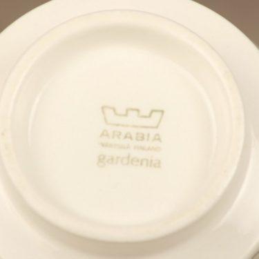 Arabia Gardenia sokerikko ja kermakko, harmaa, suunnittelija Esteri Tomula, serikuva kuva 2