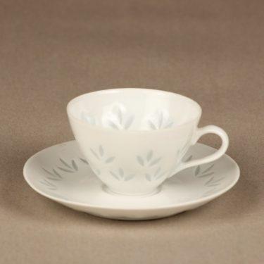 Arabia Lehti mocha cup, porcelain, Friedl Holzer-Kjellberg