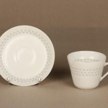 Arabia Helmi kahvikuppi, riisiposliini, suunnittelija Friedl Holzer-Kjellberg, riisiposliini, massasigneerattu kuva 2